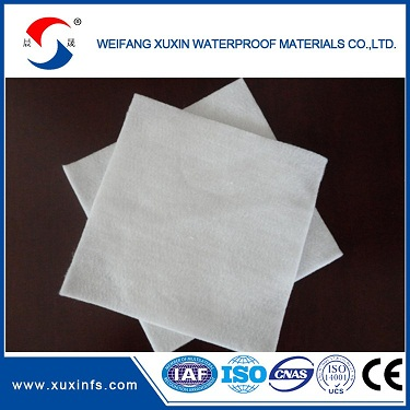 Short Fiber Needle Punched Nonwoven Geotextile